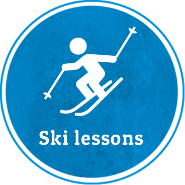 Ski lessons for adults
